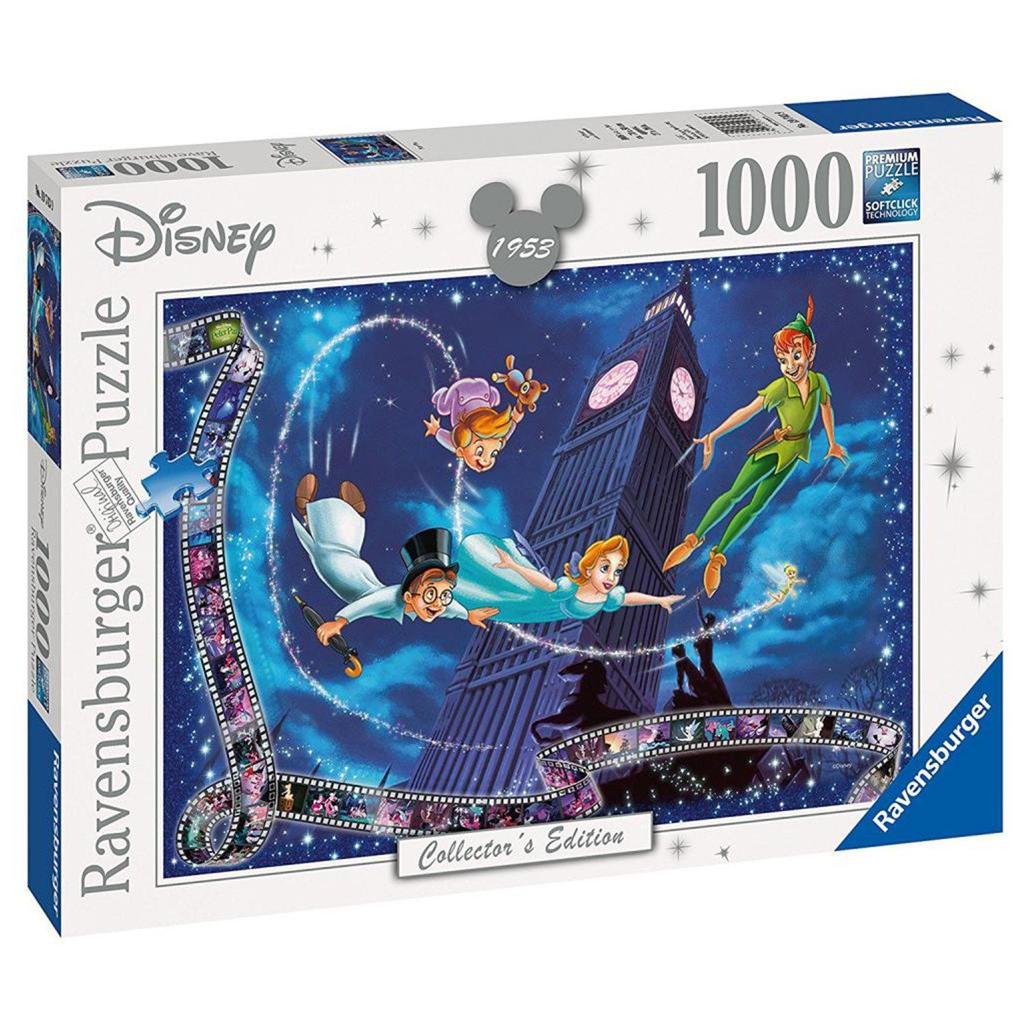 Ravensburger - Disney Moments 1953 Peter Pan 1000pc Jigsaw Puzzle