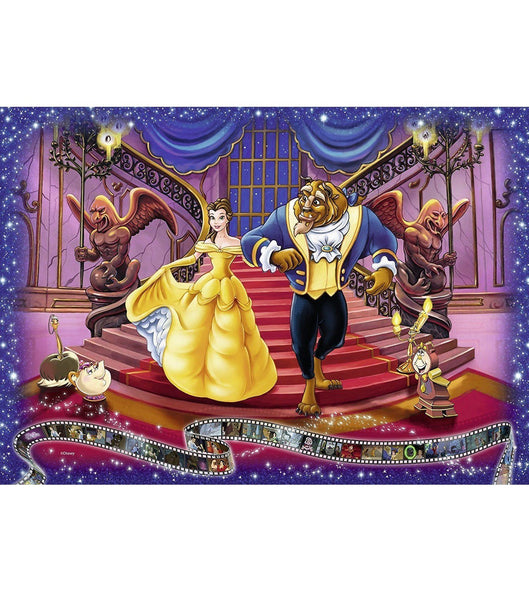 Ravensburger - Disney Moments 1991 Beauty and the Beast 1000pc Jigsaw Puzzle