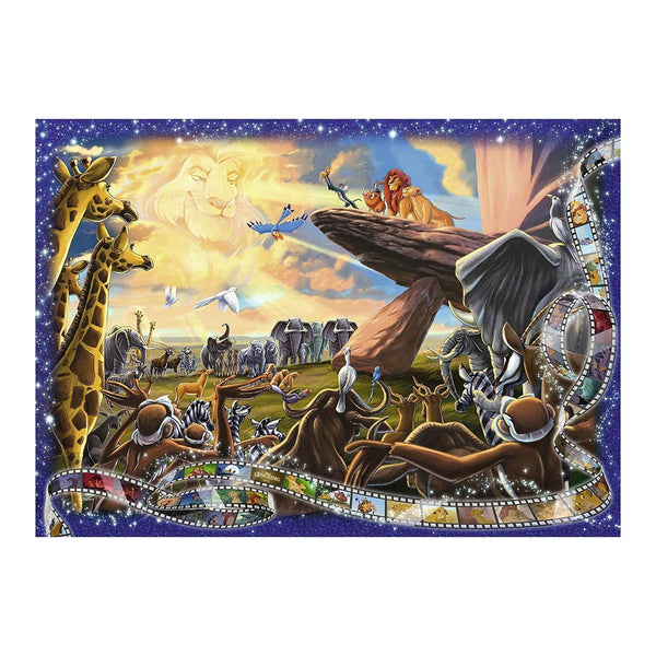 Ravensburger - Disney Moments 1994 Lion King 1000pc Jigsaw Puzzle