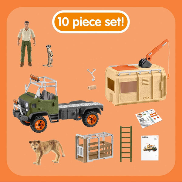 Schleich - Animal rescue large truck