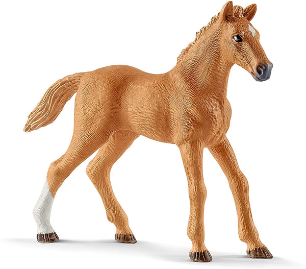 Schleich- Hannah's guest horses with Ruby the dog