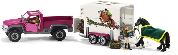 Schleich - Pick Up with Horse Box