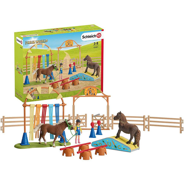 Schleich-Pony Agility Training