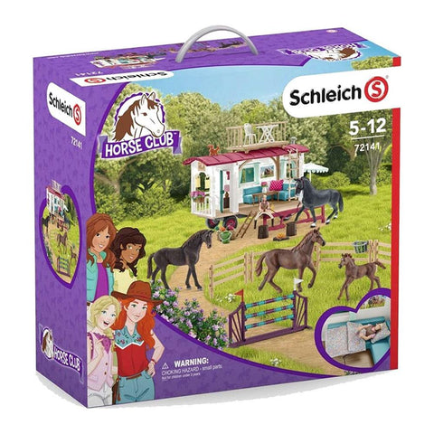 Schleich - Secret training at the caravan