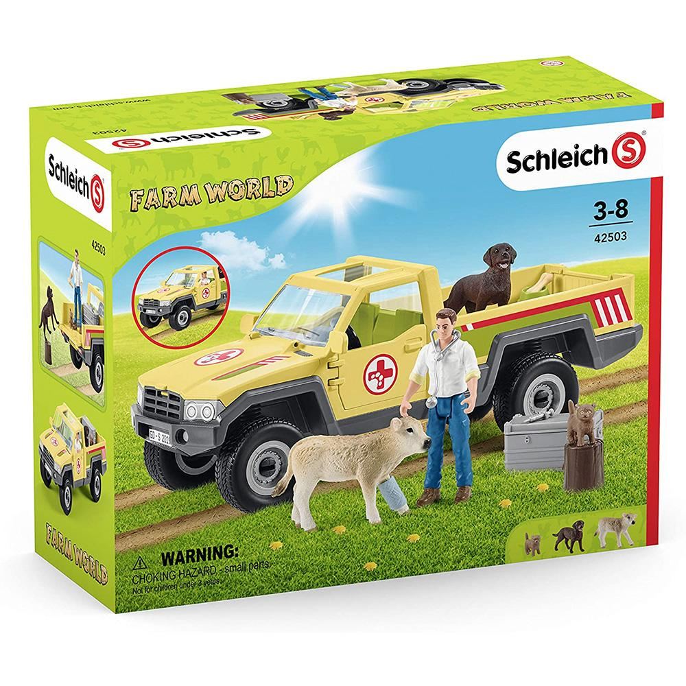 Schleich - Veterinarian visit at Farm