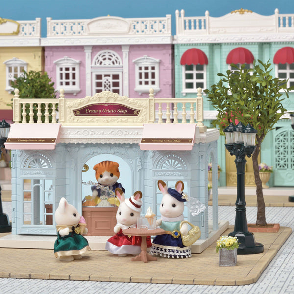 Sylvanian Family - Cream Gelato Shop