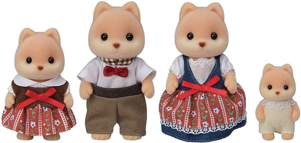 Sylvanian Family - Caramel Dog Family