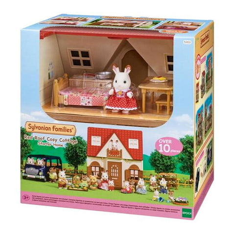 Sylvanian Family - Red Roof Cosy Cottage Starter Home