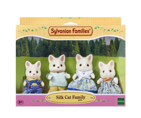Sylvanian Family - Silk Cat Family