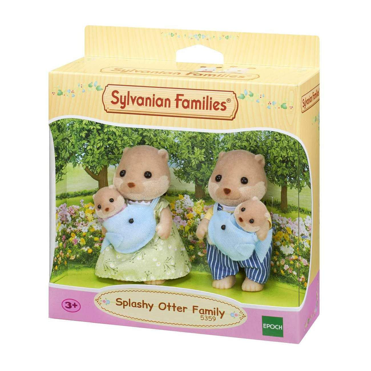 Sylvanian Family - Splashy Otter Family