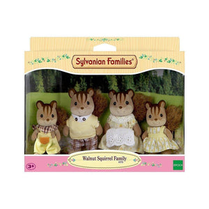 Sylvanian Family - Walnut Squirrel Family