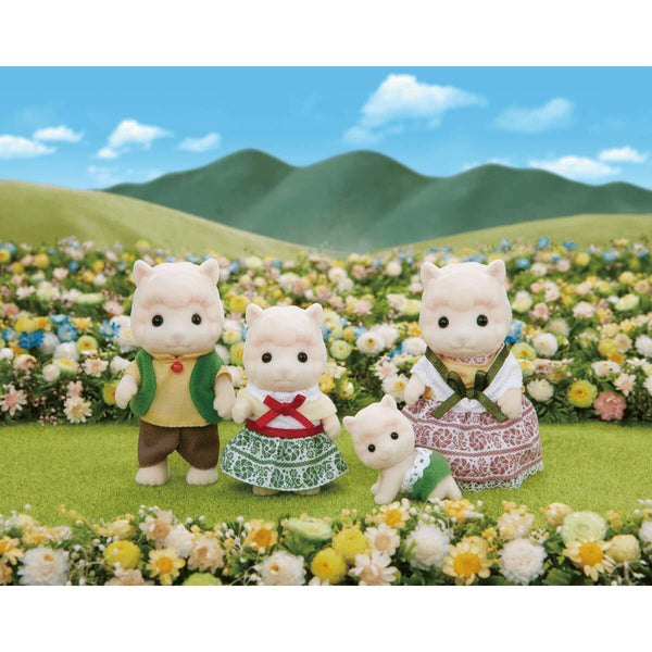 Sylvanian Family - Woolly Alpaca Family