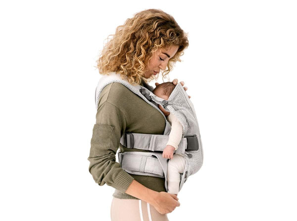 BabyBjörn BABY CARRIER ONE AIR 3D Mesh Black - Made in Sweden