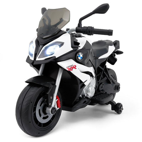 RASTAR Licensed BMW Motorcycle White