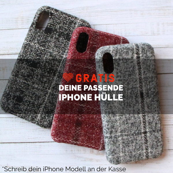 Wolle Tweed | Hülle für iPhone