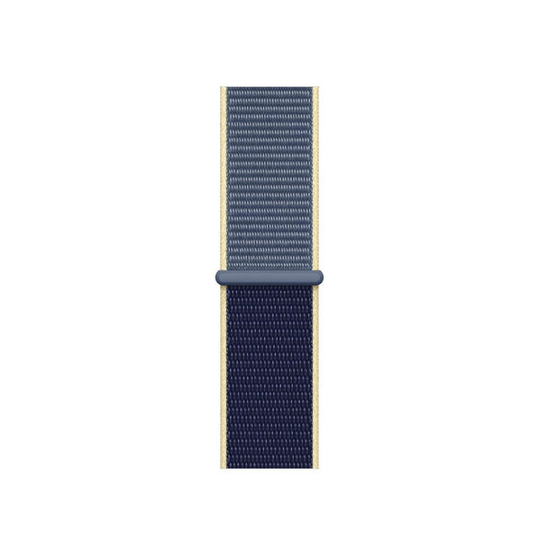 38/40/42/44mm Nylongewebe Sportband - Two-Tone Alaskan Blue - Loop