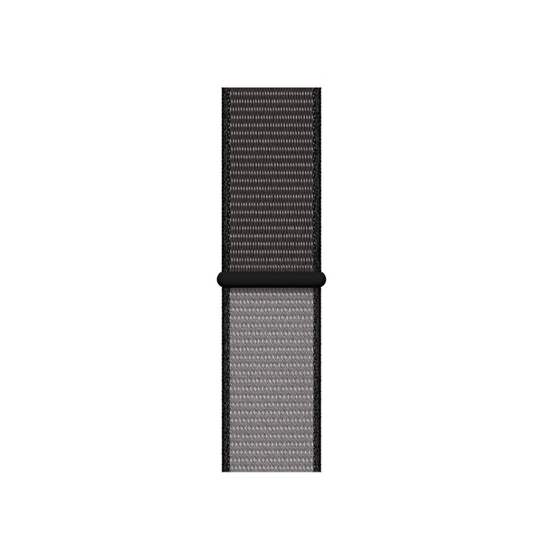38/40/42/44mm Nylongewebe Sportband - Two-Tone Anchor Gray - Loop