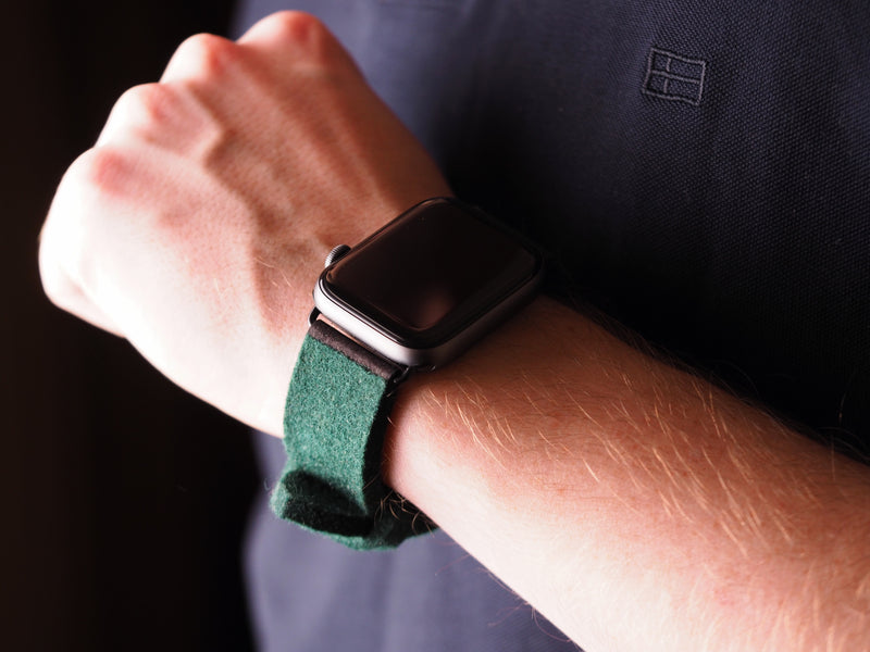 Apple Watch Armband Wolle