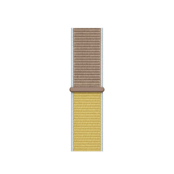 Sport Loop Armband für Apple Watch Camel Gelb Series 3 Series 4 Series 5 38mm 40mm 42mm 44mm