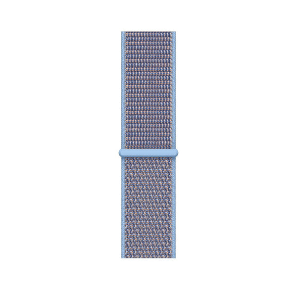 38/40mm Nylongewebe Sportband - Cerulean - Loop