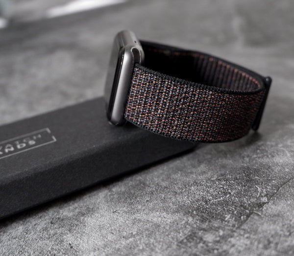 Sport Loop Black | Armband für Apple Watch (Schwarz)