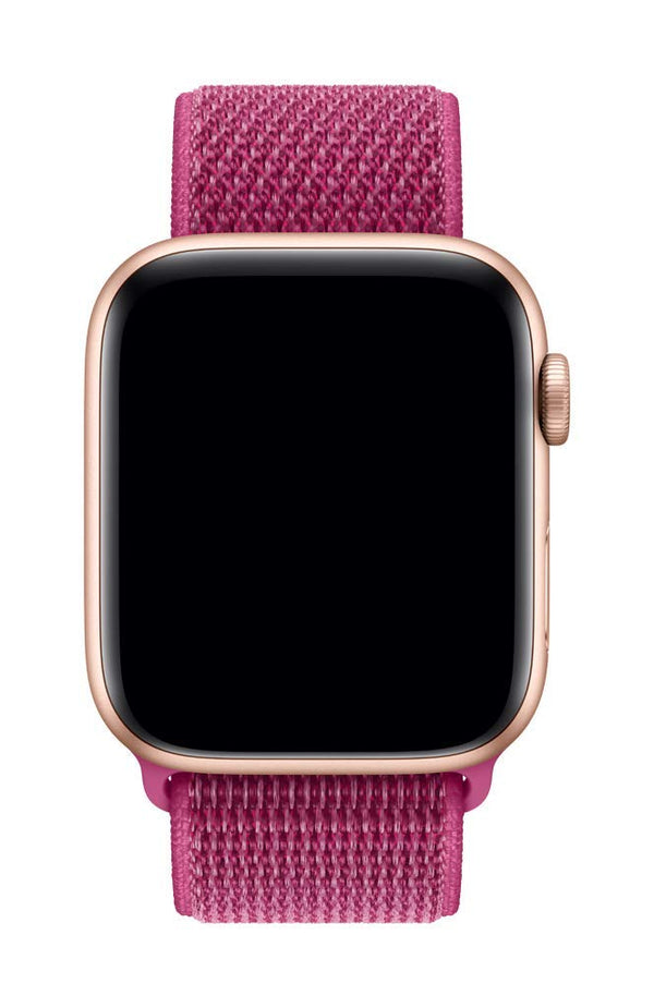Sport Loop Armband für Apple Watch Dragon Fruit Pink Series 3 Series 4 Series 5 38mm 40mm 42mm 44mm