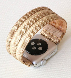 Armband für Apple Watch Gold Boho Series 2, Series 3, Series 4, Series 5 38mm 40mm 42mm 44mm