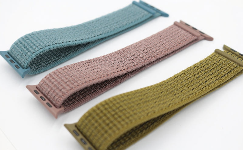 Sport Loop Armband für Apple Watch Smoky Mauve Pink Series 3 Series 4 Series 5 38mm 40mm 42mm 44mm