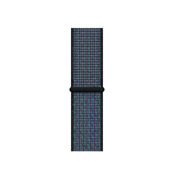 Sport Loop Armband für Apple Watch Hyper Grape Blau Series 3 Series 4 Series 5 38mm 40mm 42mm 44mm