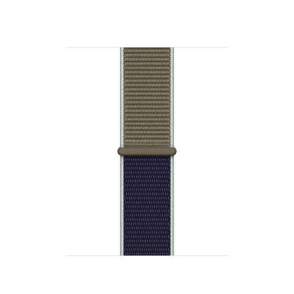 38/40/42/44mm Nylongewebe Sportband - Two-Tone Khaki - Loop