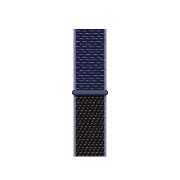 Sport Loop Armband für Apple Watch Midnight Two Tone Blau Series 3 Series 4 Series 5 38mm 40mm 42mm 44mm