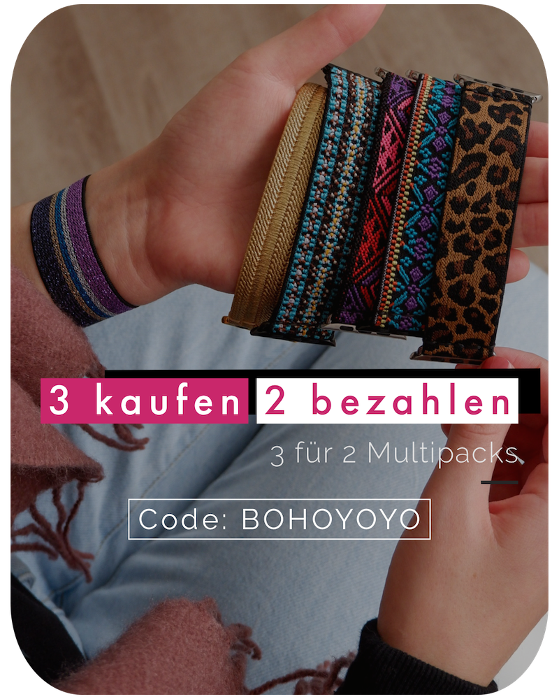 Chevron | Boho Armband für Apple Watch