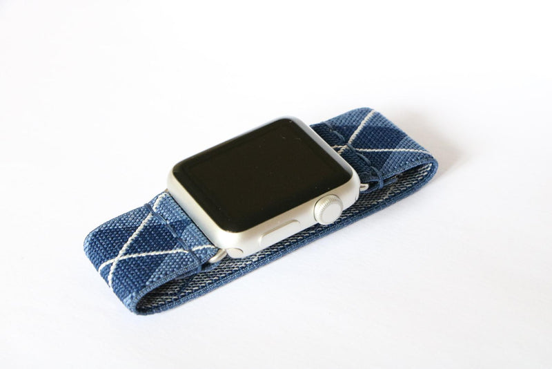 Paddington | Boho Armband für Apple Watch (Blau)