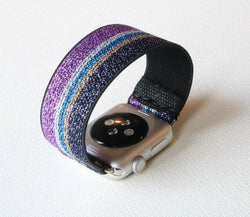 Armband für Apple Watch Lila Boho Series 2, Series 3, Series 4, Series 5 38mm 40mm 42mm 44mm