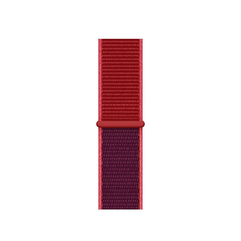 Sport Loop Armband für Apple Watch Red Edition Rot Series 3 Series 4 Series 5 38mm 40mm 42mm 44mm