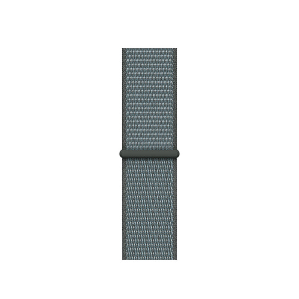 Sport Loop Armband für Apple Watch Storm Grey Grau Series 3 Series 4 Series 5 38mm 40mm 42mm 44mm