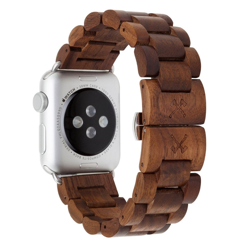 Apple Watch Armband Holz