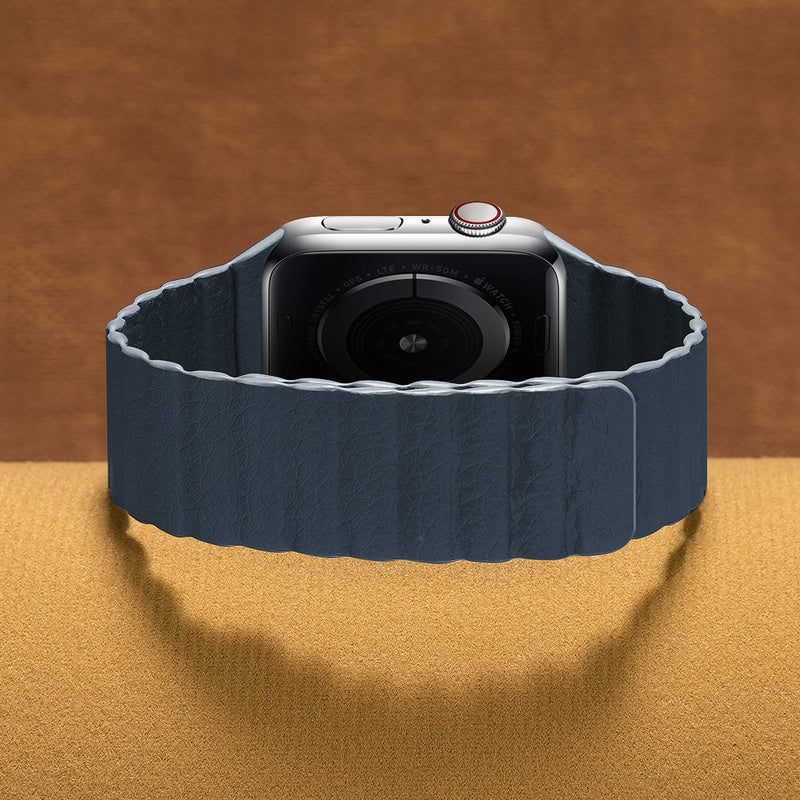 Magnetic Loop Blue | Armband mit Schlaufe für Apple Watch (Blau)