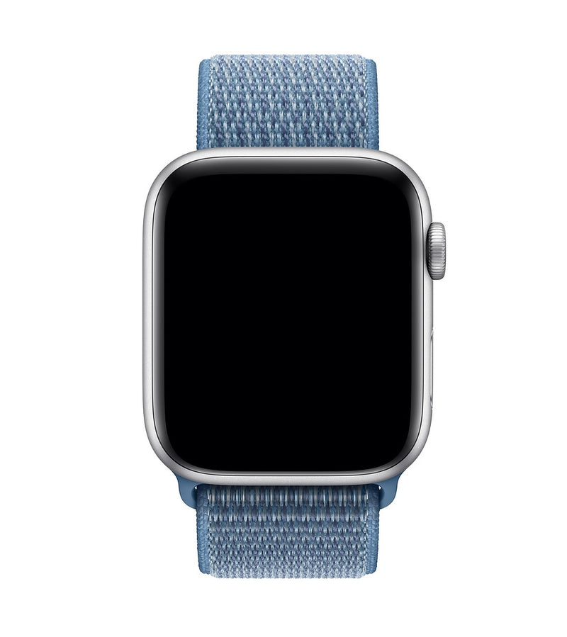 Sport Loop Armband für Apple Watch Cape Cod Blue Blau Series 3 Series 4 Series 5 38mm 40mm 42mm 44mm