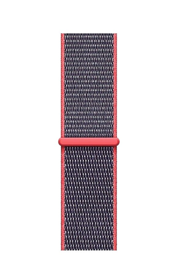 Sport Loop Armband für Apple Watch Electric Pink Series 3 Series 4 Series 5 38mm 40mm 42mm 44mm