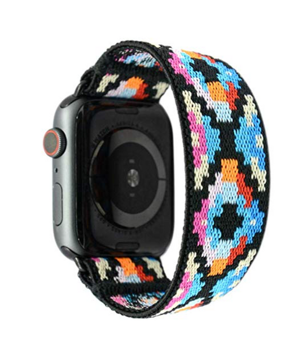 Coachella One Elastic Armband Band für Apple Watch 3, 4, 5. 44mm 42mm 38mm 40mm iWatch zubehör designer