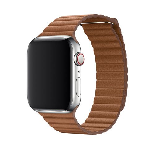 magnetic loop armband für apple watch braun saddle brown awab passend zu Serien 2, 3, 4, 5, 38mm 40mm 42mm 44mm