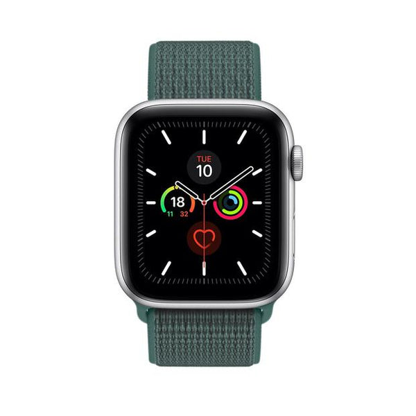 sport loop armband für apple watch grun pine green awab passend zu Serien 2, 3, 4, 5, 38mm 40mm 42mm 44mm