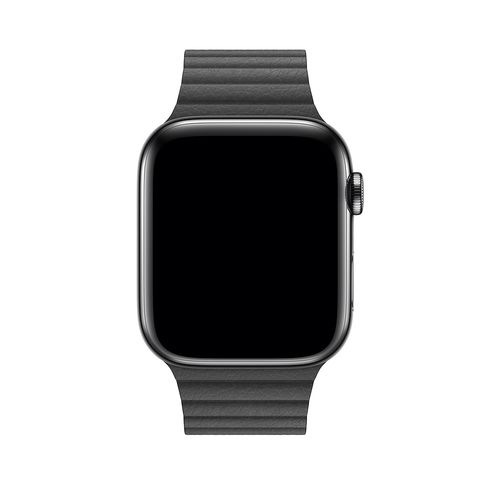 magnetic loop armband für apple watch schwarz black awab passend zu Serien 2, 3, 4, 5, 38mm 40mm 42mm 44mm