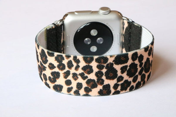 Armband für Apple Watch Leopard Boho Series 2, Series 3, Series 4, Series 5 38mm 40mm 42mm 44mm