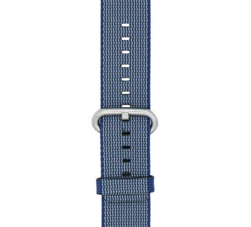 Canvas Midnight Blue Classic | Armband für Apple Watch (Blau)