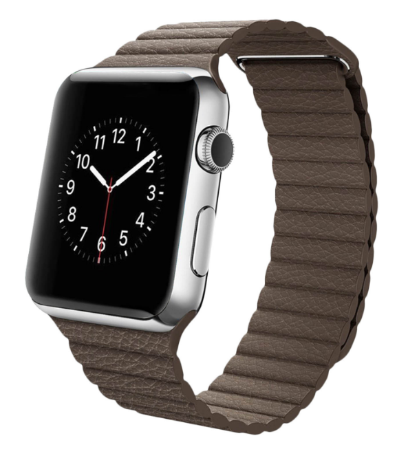 magnetic loop armband für apple watch braun brown passend zu Serien 2, 3, 4, 5, 38mm 40mm 42mm 44mm