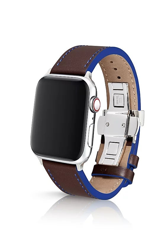 Korza Umber | Lederarmband für Apple Watch (Braun)