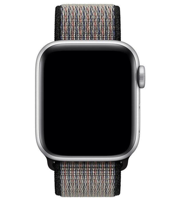 sport loop armband für apple watch grau royal pulse awab passend zu Serien 2, 3, 4, 5, 38mm 40mm 42mm 44mm