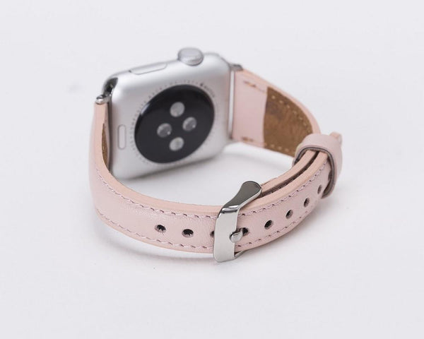 Nude Pink Slim | Lederarmband für Apple Watch